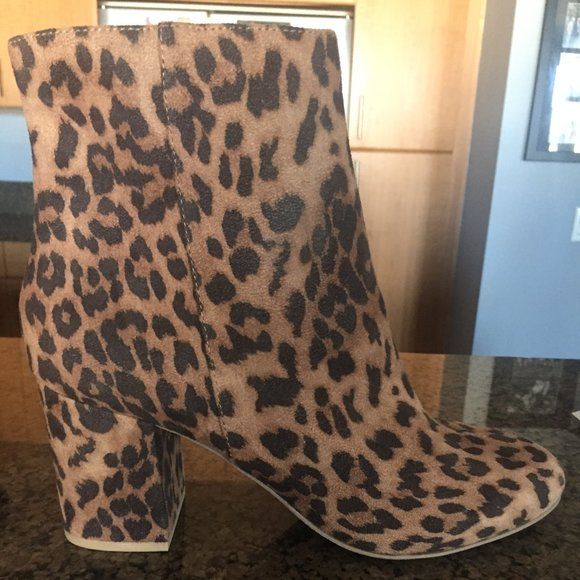 Charlotte Russe Shoes | Leopard Zipup